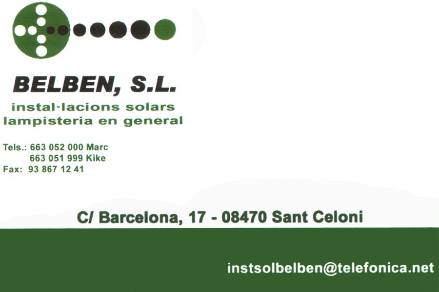 instal·lacions solars