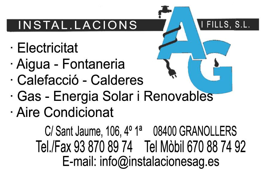 instal·lacions AG