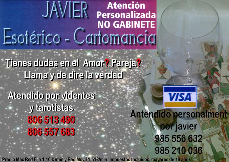 Javier Esotérico Cartomancia